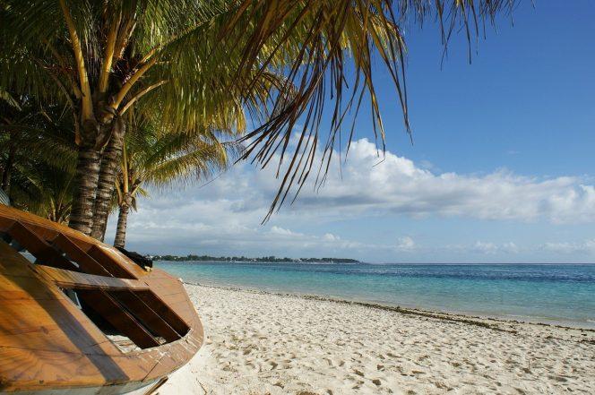 Krásné pláže ostrova Mauritius