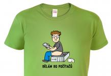 originální trička